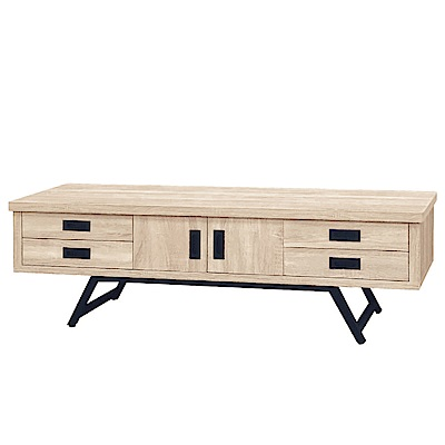 綠活居 克羅心5.1尺電視櫃(二色可選)-151.7x40.4x47.8cm免組