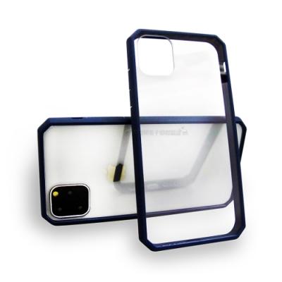 軍工級 iPhone 11 Pro 5.8吋 OCT軍規防摔殼 加厚邊框(深邃藍)