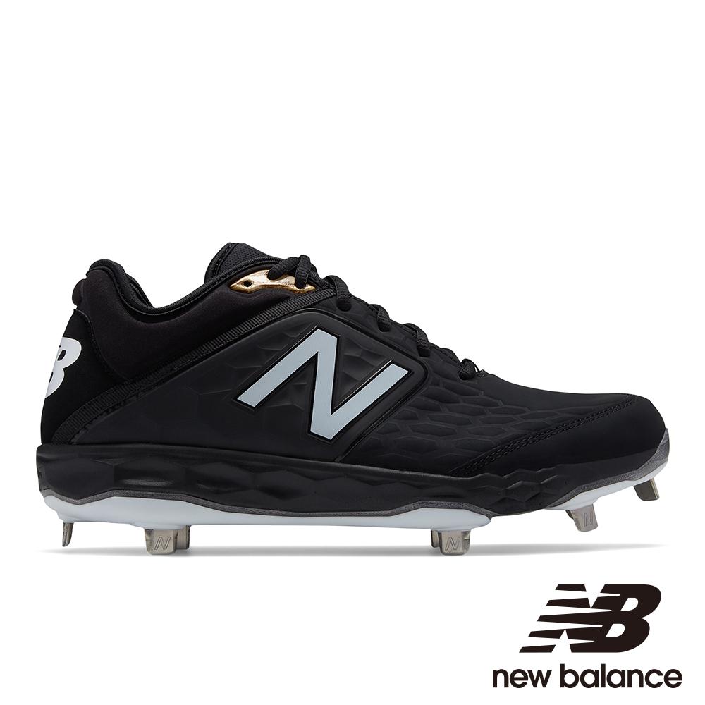 NEW BALANCE 棒球鞋-男 L3000SK4 黑色