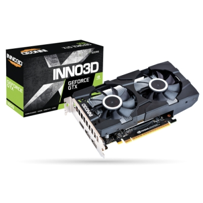 INNO3D映眾 Geforce GTX 1650 4GB GDDR6 TWIN X2 OC 顯示卡