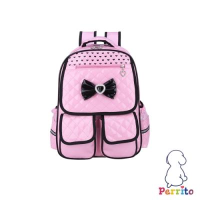 Perrito「公主寶貝」核心護脊兒童書包 (粉色)