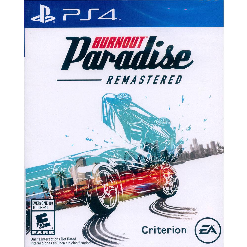 橫衝直撞:狂飆樂園 重製版 Burnout Paradise -PS4 英文美版 (拉丁)