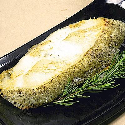 好神 格陵蘭特選超大厚切比目魚(扁鱈)3片組( 370g±10%/片)