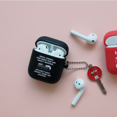 oh lolly day Airpods 矽膠保護套V1-黑色