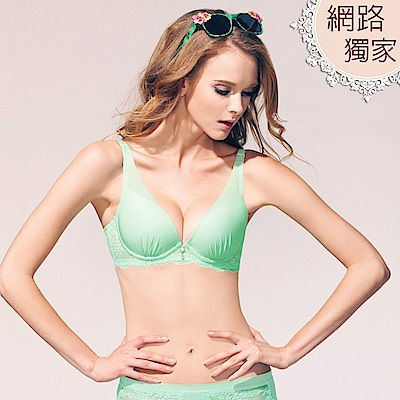 【曼黛瑪璉】愛甜蜜   B-E罩杯內衣(海草綠)