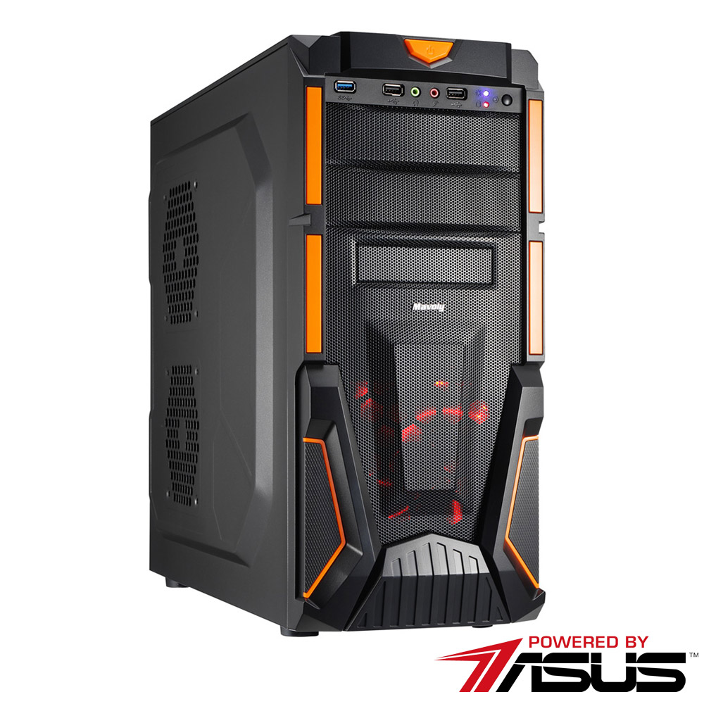 華碩B365平台 [妖火義士]i5六核GTX1660獨顯SSD電玩機