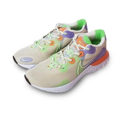 NIKE 慢跑鞋 緩震 訓練 運動鞋 女鞋 米白 DC0954115