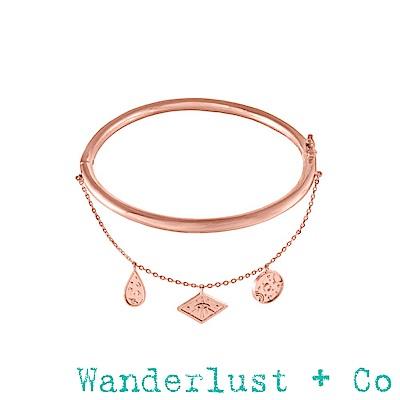 Wanderlust+Co 星系手環 - 玫瑰金色