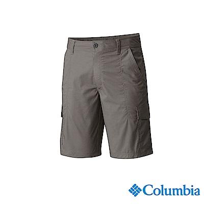 Columbia 哥倫比亞 男款-UPF50防曬短褲-灰色 UAM01010GY