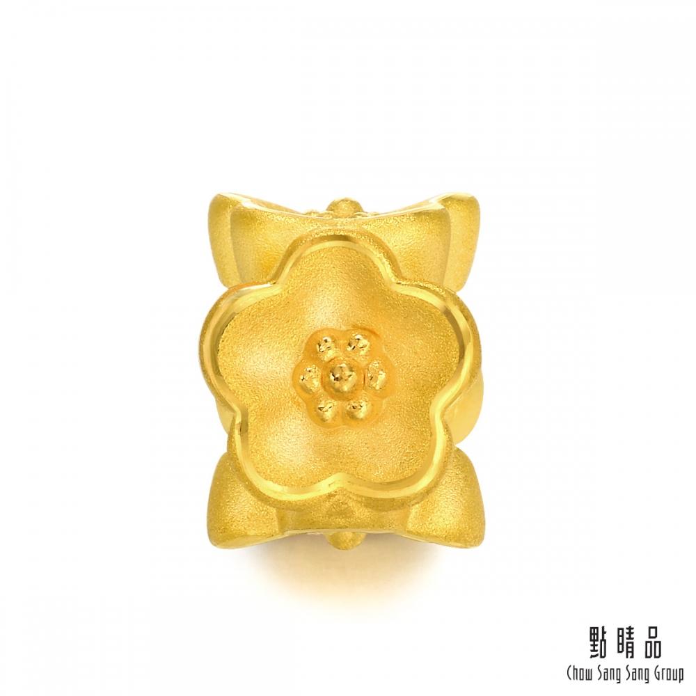 點睛品 Charme 海棠花 黃金串珠
