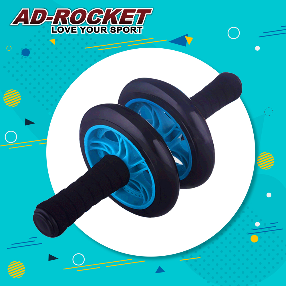 AD ROCKET 超靜音滾輪健身器 健腹器 滾輪 腹肌