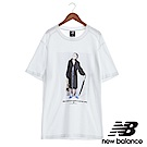 New Balance 老婆婆經典海報短袖T恤 AMT73592WT 中性 白