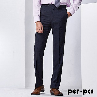 per-pcs 經典舒適彈性西裝褲_717109