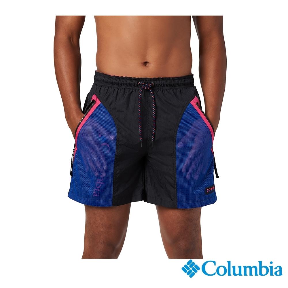 Columbia 哥倫比亞 中性- ICONS防潑短褲-黑色 UAE03700BK