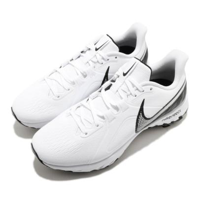 Nike 高爾夫球鞋 React Infinity 寬楦男鞋 運動 避震 包覆 舒適 穿搭 球鞋 白 黑 CT6621102