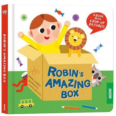 Robin s Amazing Box 羅賓的神奇紙箱立體書