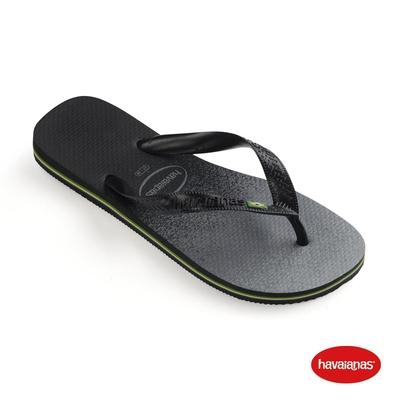 Havaianas 哈瓦仕 拖鞋 夾腳拖 人字拖  巴西 男鞋 女鞋 黑 4145745-0090U Brasil Fresh