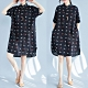 【韓國K.W.】點點印花寬鬆洋裝-1色