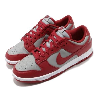 Nike 休閒鞋 Dunk Low Retro 運動 男鞋 經典款 簡約 復刻 皮革 質感 穿搭 紅 灰 DD1391002