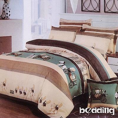 BEDDING-活性印染6尺雙人加大薄床包三件組-格林童話