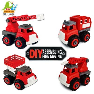 Playful Toys 頑玩具 DIY消防車