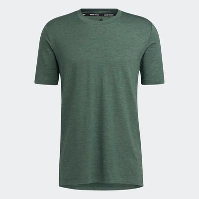 ADIDAS 上衣 短袖上衣 運動 慢跑 男款 綠 GM0521 CITY ELEVATED TEE