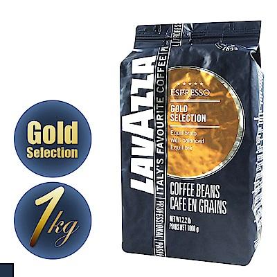 義大利LAVAZZA GOLD SELECTION金牌咖啡豆(1000g)