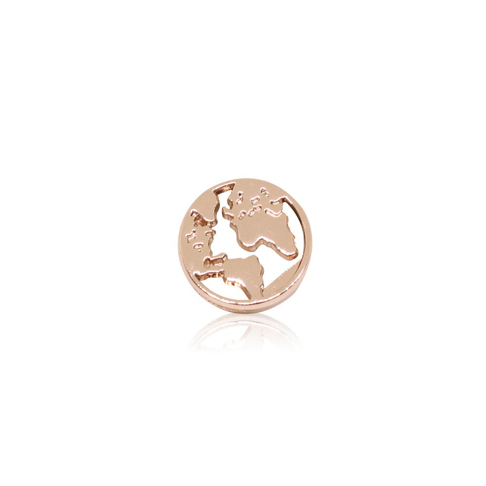 HOURRAE 環遊世界 地球 人氣玫瑰金系列 小飾品