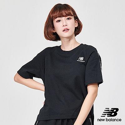 New Balance經典條紋短袖T恤AWT91591BK_女黑色