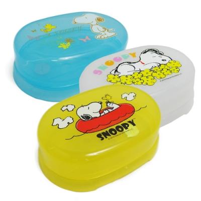 SNOOPY 史努比肥皂盒 3入