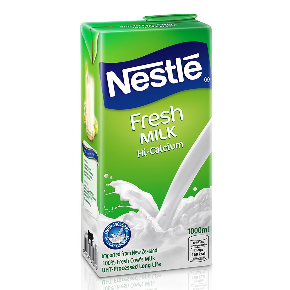 雀巢全脂牛奶(1000ml)
