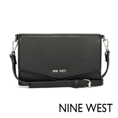 【NINE WEST】WHIMSY系列 大都會MINI斜背/肩背兩用包-黑色 (NYV517662-BLA)