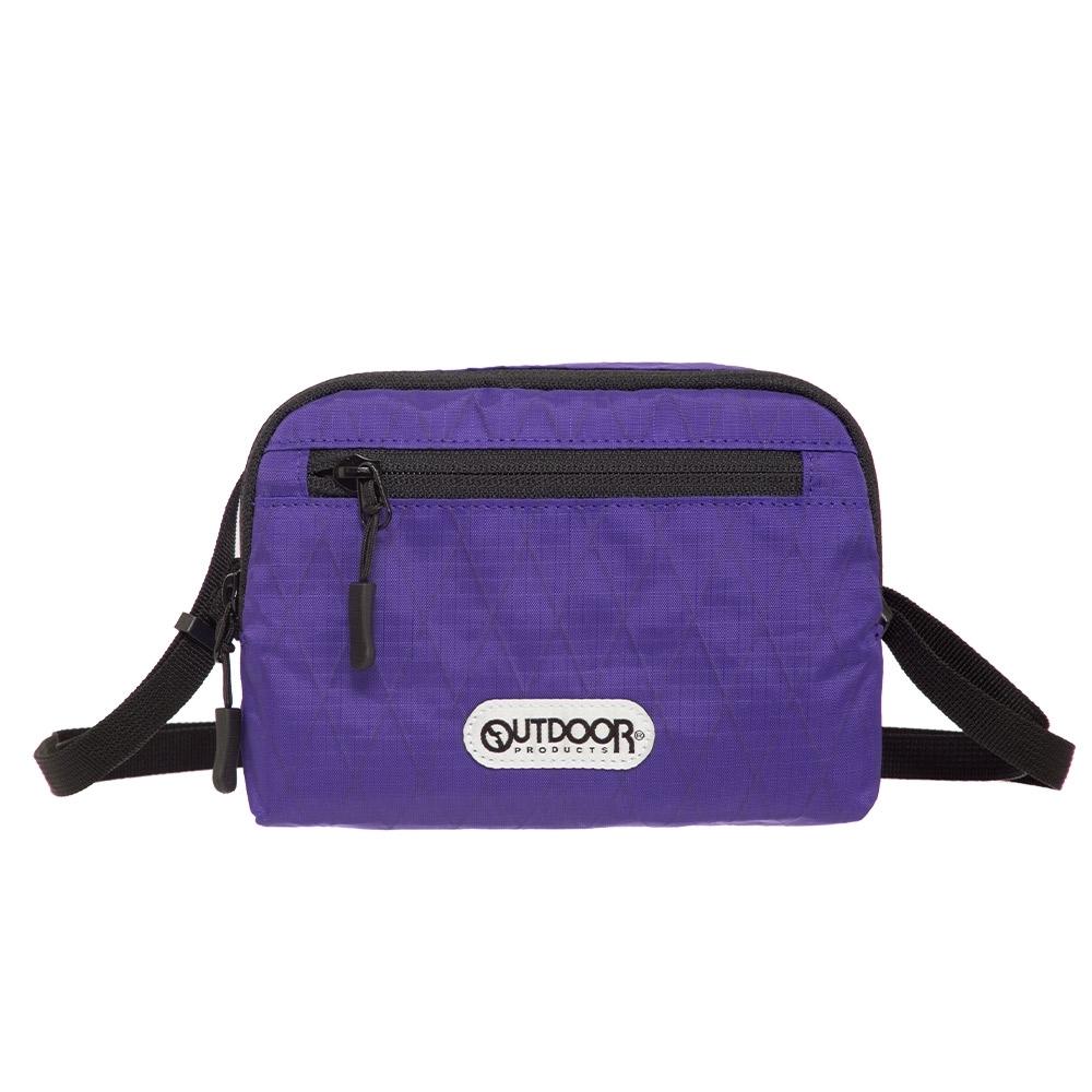 【OUTDOOR】輕遊系-側背包-紫色 OD201103PL