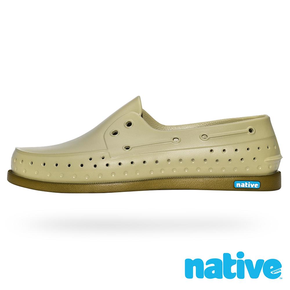native HOWARD 男/女鞋-棕色沙丘