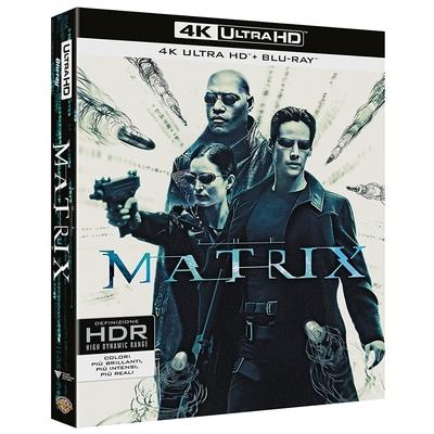 駭客任務 UHD + BD + Bonus 三碟版