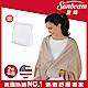 美國Sunbeam柔毛披蓋式電熱毯(優雅駝) product thumbnail 1