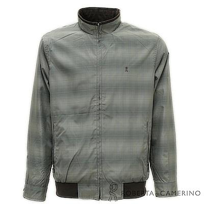 ROBERTA諾貝達 雙面可穿 設計款夾克外套  深棕色