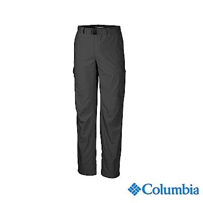 Columbia 哥倫比亞 男款-UPF50快排長褲-深灰 UAM80070DY