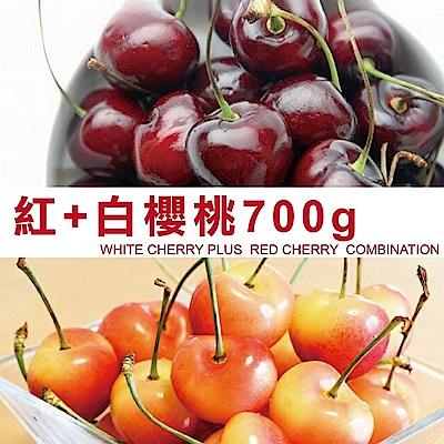 天天果園美國西北櫻桃紅白配9.5R x700g