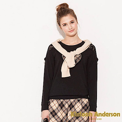 Kinloch Anderson 金安德森女裝 圓領前刺繡蕾絲上衣 @ Y!購物