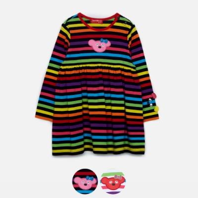 WHY AND 1/2 mini 條紋棉質萊卡洋裝 0M~4Y 多色可選