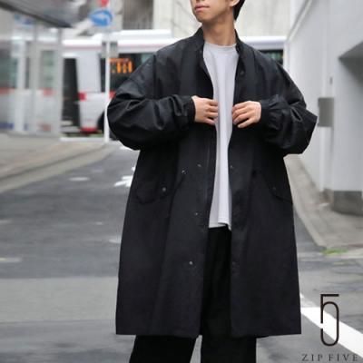 ZIP日本男裝 立領軍裝Mods大衣 Oversize (2色)