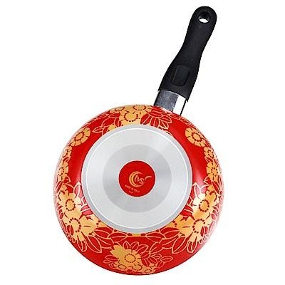 義廚寶 菲麗塔系列小湯鍋20cm-花花世界 FD09