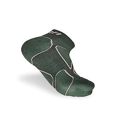 【Titan】太肯功能慢跑襪2_墨綠色_3雙 (適合馬拉松、健走、慢跑)