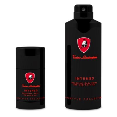 Lamborghini Intenso 極致能量男性體香噴霧 200ml+體香膏75g
