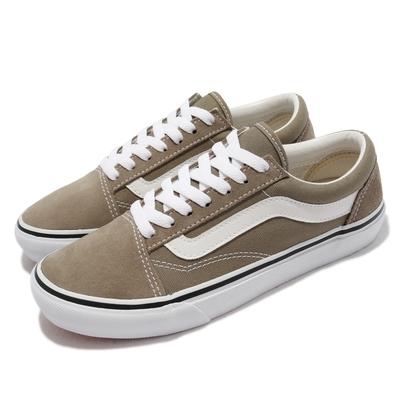 Vans 休閒鞋 V36CF Calm Old Skool 女 基本款 帆布 麂皮 支撐 抓地 耐磨 淺褐 白 5987070001