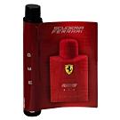 *Ferrari法拉利 紅色法拉利男性淡香水針管1.2ml