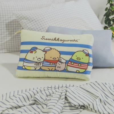 絲薇諾  正版授權  兒童天絲水洗枕1入-角落生物-海軍