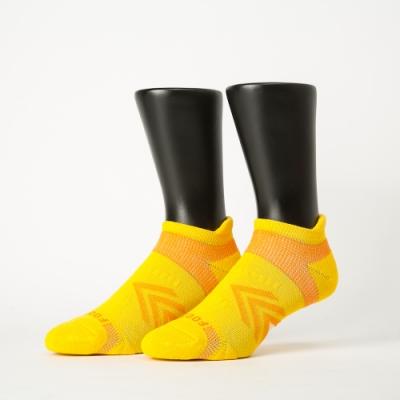 Footer除臭襪-雙側翼護足輕壓力船短襪-六雙入(深灰2+黃*2+紫*2)