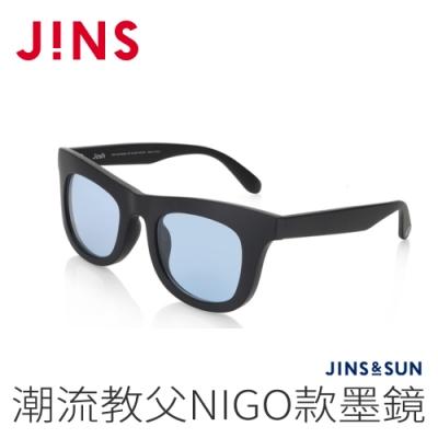 JINS&SUN 潮流教父NIGO款墨鏡(AMRF20A052)霧黑